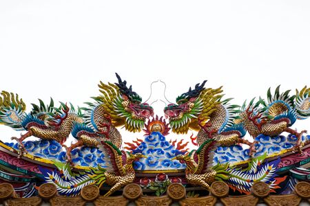 Dragons in Phuket,Thailand photo
