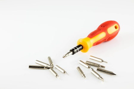 electroplating: screwdriver Stock Photo