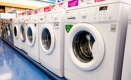 Johannesburg, South Africa - July 05 2011: Inside Interior of a White goods store