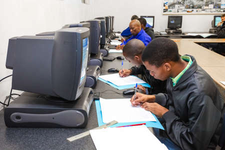 Johannesburg, South Africa - May 8 2012: Vocational Skills Training Centre in Africa Editorial