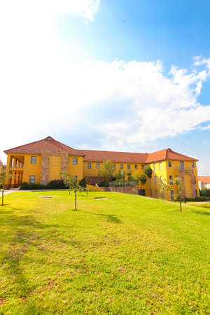 Johannesburg, South Africa - April 17 2012: Exterior Buildings at College Campus