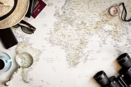 Travel Map for holiday planning