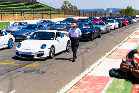 Johannesburg, South Africa - October 05 2013: Aston Martin Owner's Track Day