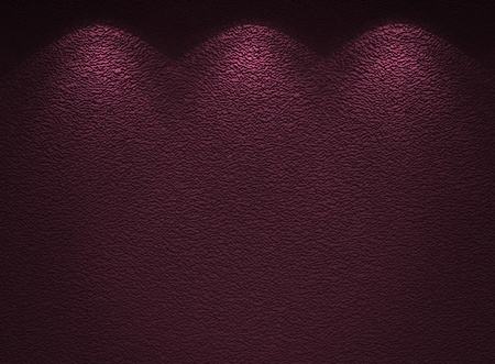 Illuminated texture of the violet wall photo