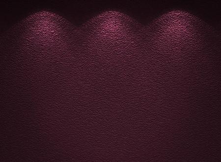 Illuminated texture of the violet wall Stock Photo - 12025949