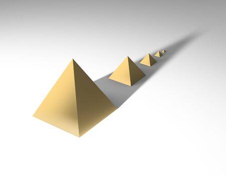 pyramids: Business pyramids