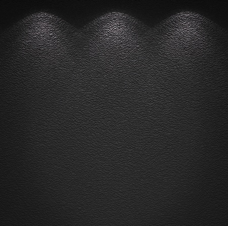 Illuminated texture of the grey wall photo