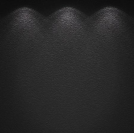 Illuminated texture of the grey wall Stock Photo - 12062250