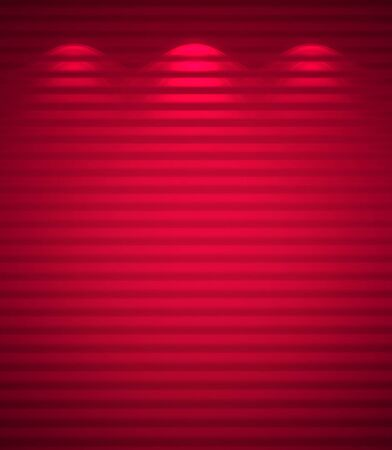 Illuminated pink wall, abstract background Stock Photo - 12676265