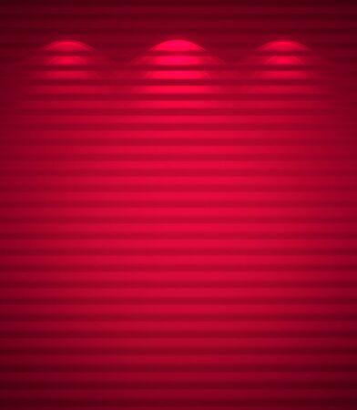 Illuminated pink wall, abstract background Stock Photo - 12676265