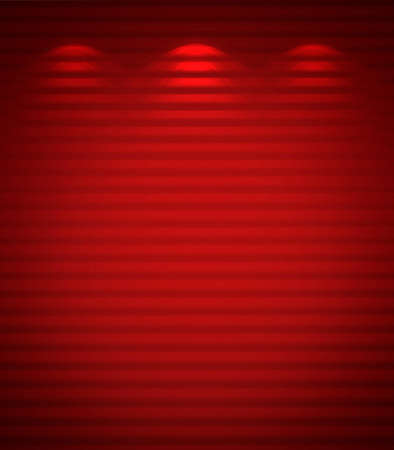 Illuminated red wall, abstract background Stock Photo - 13159270