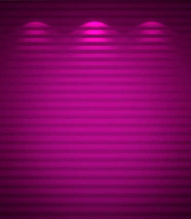 Illuminated violet wall, abstract background photo