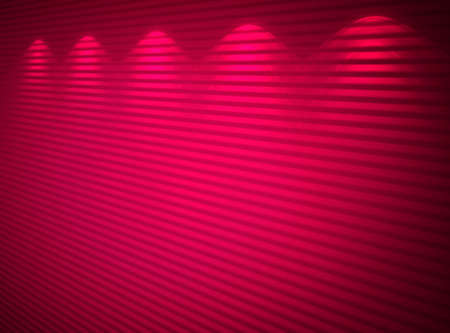 Illuminated pink wall, abstract background Stock Photo - 13159298