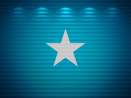 somalian: Somalian flag wall, abstract background