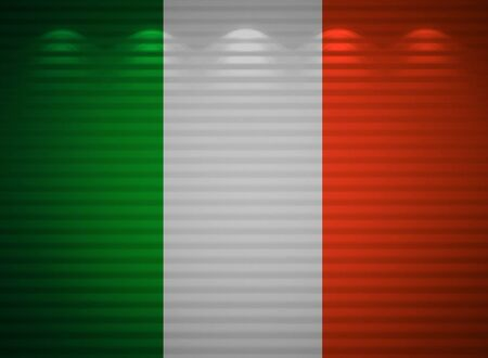 Irish flag wall, abstract background photo