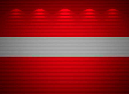 Latvian flag wall, abstract background Stock Photo - 13794718