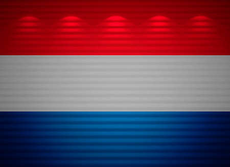 netherlandish: Netherlandish flag wall, abstract background
