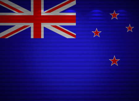 New Zealand flag wall, abstract background photo