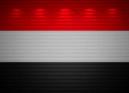 Yemen bandera de la pared, resumen de antecedentes Foto de archivo - 13794740