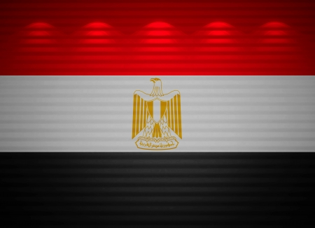Egyptian flag wall, abstract background photo