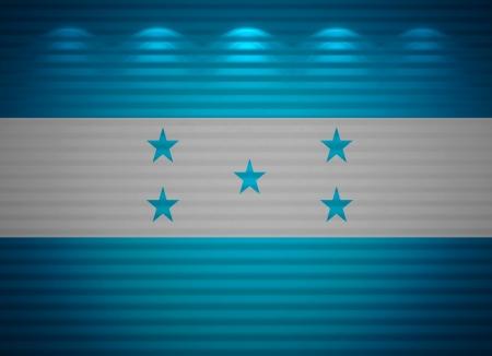 bandera de honduras: Honduras bandera pared, fondo abstracto