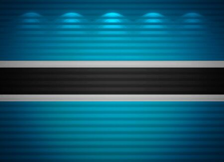 Botswana flag wall, abstract background photo