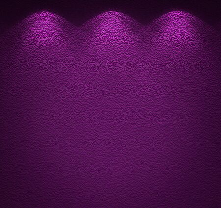 Illuminated texture of the violet wall Stock Photo - 14031066