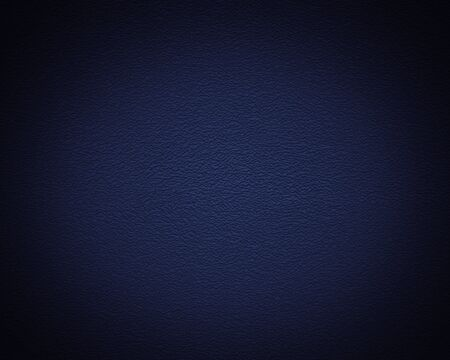 absract art: Illuminated texture of the blue wall, background Stock Photo
