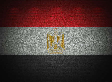 Egyptian flag wall, abstract grunge background photo