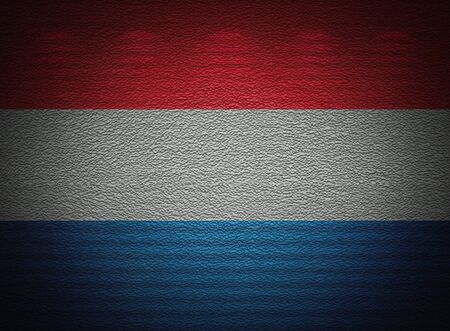 netherlandish: Netherlandish flag wall, abstract grunge background