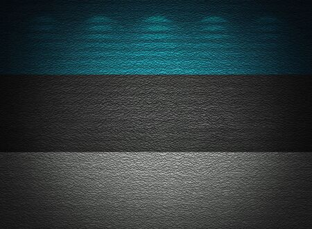 Estonian flag wall, abstract grunge background photo