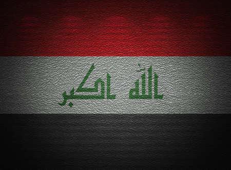 iraqi: Iraqi flag wall, abstract grunge background