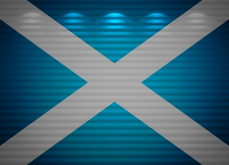 Scottish flag wall, abstract background photo