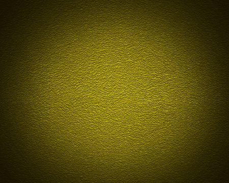 Illuminated texture of the yellow wall, background photo