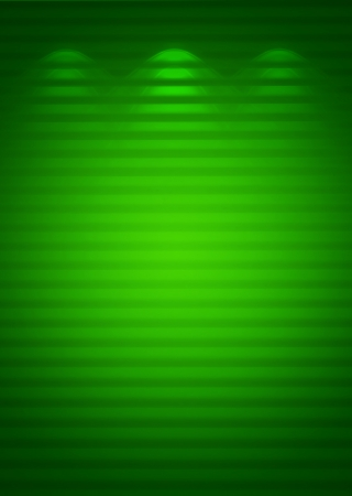 Illuminated green wall, abstract background photo