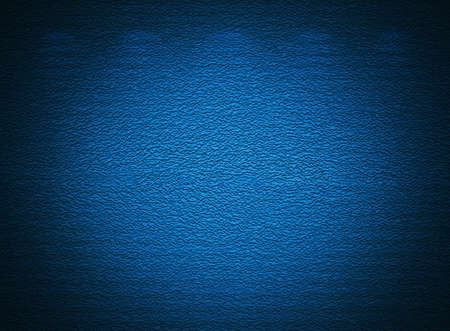 Blue wall, abstract grunge background  photo