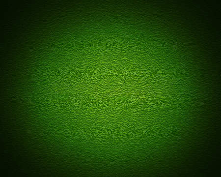 absract art: Illuminated texture of the green wall, background