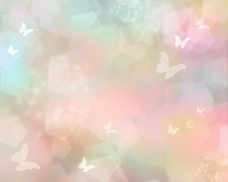 butterfly background: Pink shine with butterflies as abstract lights background