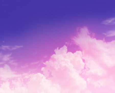 heavenly: The color sky with clouds, background Stock Photo