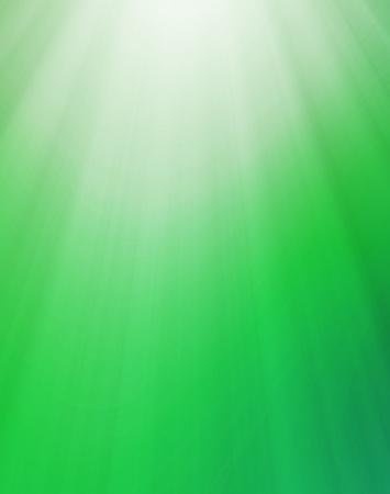 ライトで自然な緑の抽象的な背景
