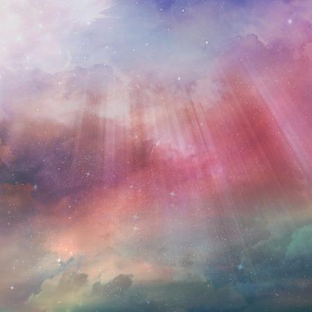 Beautiful sky background photo