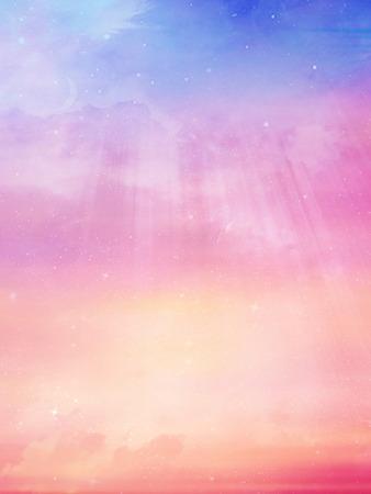 cosmic: Beautiful sky background Stock Photo