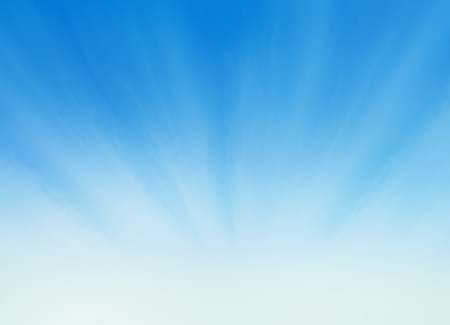 heaven: The blue sky with clouds, background