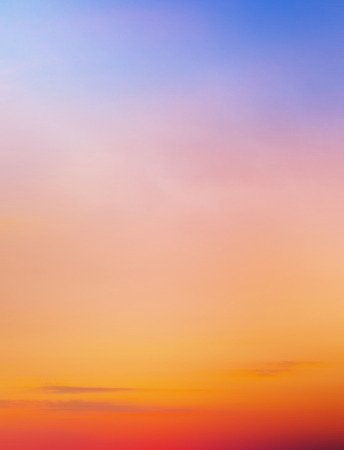 Sunset sky background Banco de Imagens