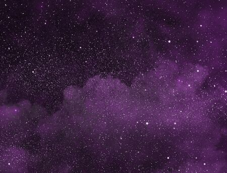Night sky with stars as background Stock Photo