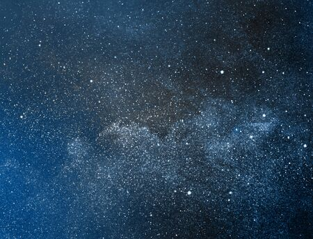 Night sky with stars as background Banque d'images