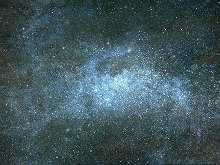 Ciel nocturne avec des étoiles en arrière-plan. Aquarelle Banque d'images