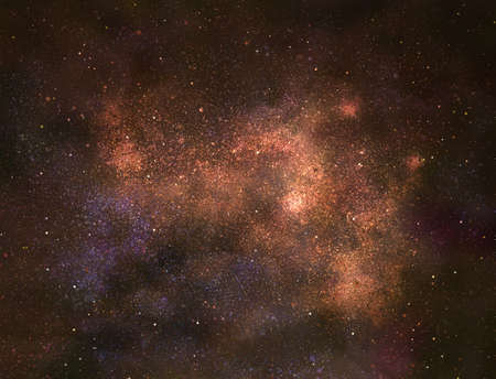 Night sky with stars as background. Universe Stock Photo