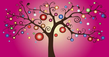 enchanting: Decorative  tree
