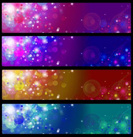wawe: colorful banners